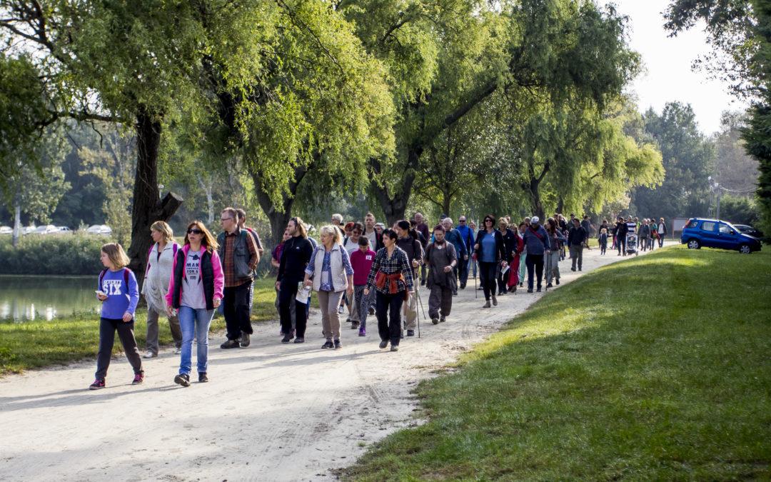 Felavatták a Csömöri gyalogos körtúra útvonalát