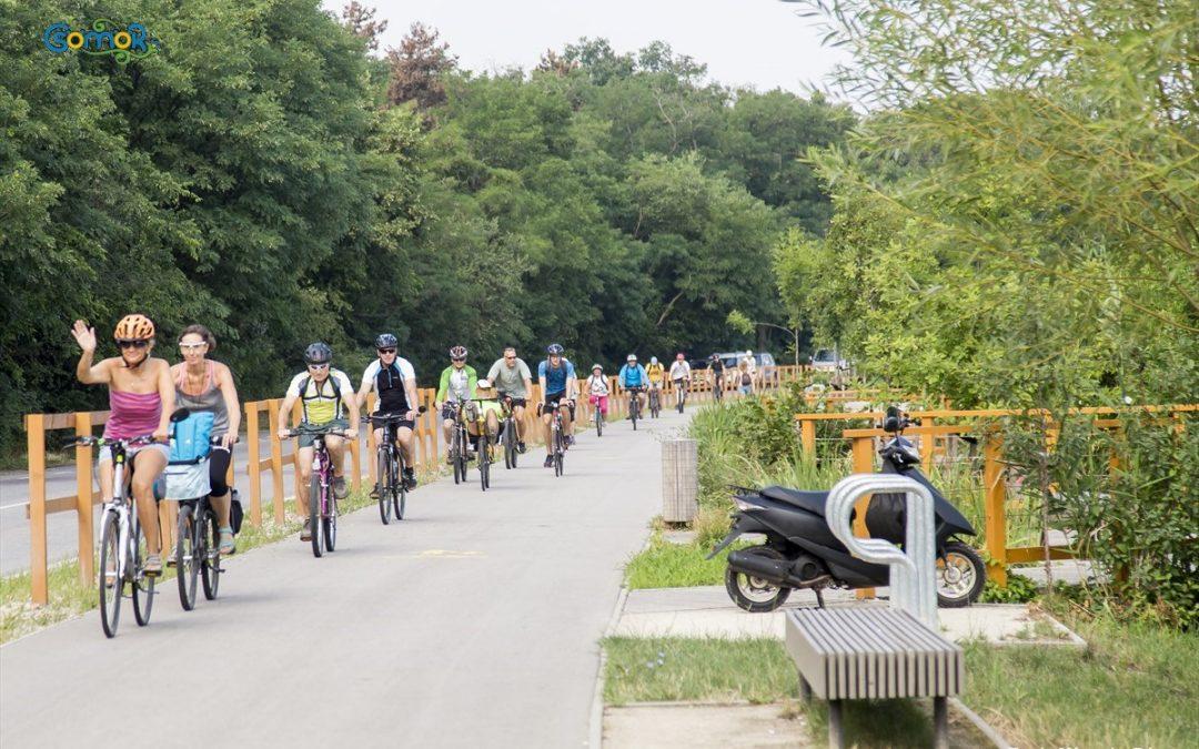 Kistérségi kerékpáros körtúrával zárult az idei Bringafesztivál